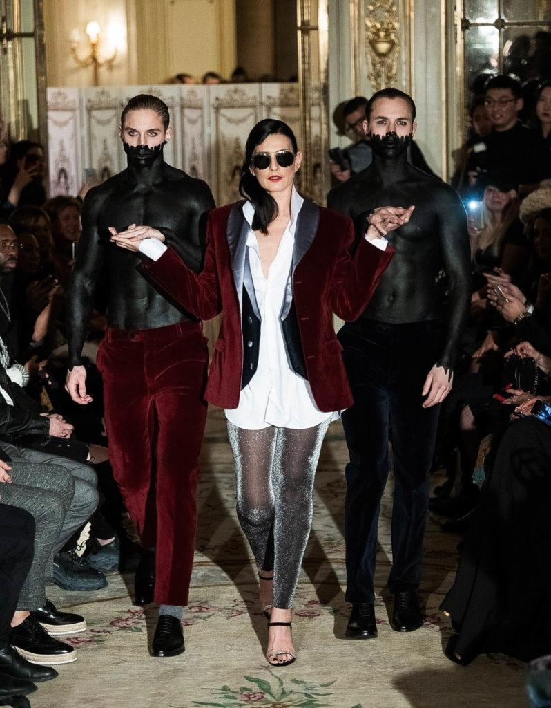 Paris fashion week défilé Tim et pierrot
